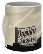 Low Angle View Of Domino Sugar Sign Coffee Mug
