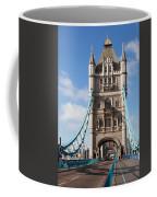 Low Angle View Of Tower Bridge, London Coffee Mug