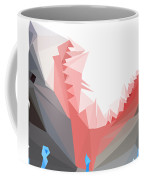 Low Poly Shark Coffee Mug