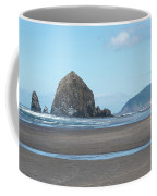 Low Tide At Cannon Beach Coffee Mug