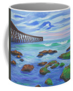 Low Tide At Haskell's Beach Coffee Mug