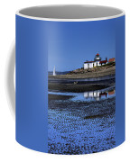 Low Tide At The Lighthouse Coffee Mug