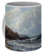 Low Tide, Hetherington's Cove, Grand Manan By Alfred Thompson Bricher Coffee Mug