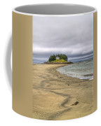 Low Tide In Popham Beach Maine Coffee Mug