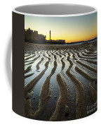 Low Tide On La Caleta Cadiz Spain Coffee Mug