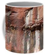 Lower Emerald Pool Rock-zion National Park Coffee Mug