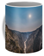 Lower Falls At Artist Point  Coffee Mug