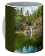Lower Falls Of Enfield Glen Early Autumn Coffee Mug