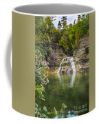 Lower Falls Of Enfield Glen Robert H. Treman State Park Coffee Mug