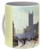 Lower Fifth Avenue Coffee Mug by Childe Hassam