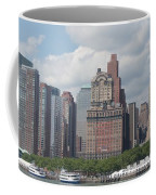 Lower Manhattan Panorama Coffee Mug