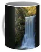Lower South Falls Closeup Coffee Mug