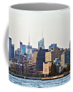 Lower West Side On The Waterfront Coffee Mug