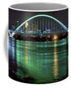 Lowry Bridge In St. Patrick's Day Green Coffee Mug