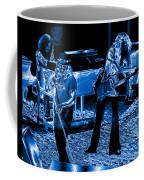 Ls #40 Enhanced In Blue Coffee Mug