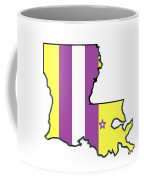 Lsu Louisiana Coffee Mug