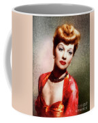 Lucille Ball, Vintage Actress Coffee Mug