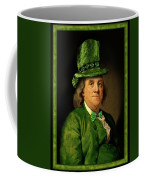 Lucky Ben Franklin In Green Coffee Mug