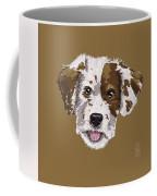 Lucky Brown Mixed Breed Coffee Mug