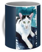 Lucky Elvis - Cat Portrait Coffee Mug