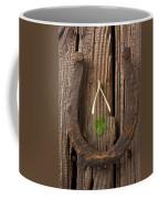 Lucky Horseshoe Coffee Mug by Garry Gay