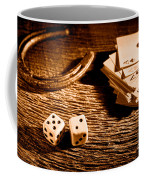 Lucky - Sepia Coffee Mug