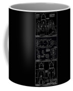 Lucy The Elephant Building Patent Blueprint 3 Coffee Mug