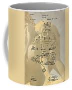 Lucy The Elephant Building Patent Coffee Mug