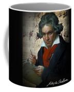 Ludwig Van Beethoven 1820 Coffee Mug