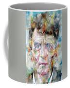 Ludwig Wittgenstein - Watercolor Portrait.2 Coffee Mug