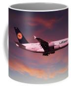 Lufthansa Airbus A380 D-aimh Coffee Mug