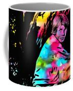 Luke Skywalker Paint Splatter Coffee Mug