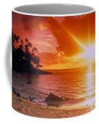 Lumahai Beach Sunset Coffee Mug
