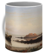 Lumber Schooners At Evening On Penobscot Bay By Fitz Henry Lane, 1863 By Fitz Henry Lane Coffee Mug