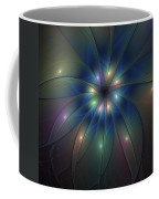 Luminous Fractal Art Coffee Mug