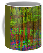 Luminous Landscape Abstract Coffee Mug