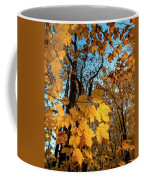Luminous Leaves Coffee Mug