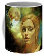 Luna In The Garden Of Evil Coffee Mug