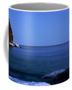 Lunar Eclipse At Split Rock Coffee Mug