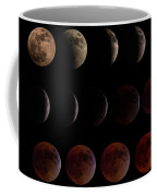 Lunar Eclipse Sequence Coffee Mug