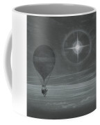 Lunar Halo And Luminescent Cross Observed During The Balloon Zenith's Long Distance Flight Coffee Mug