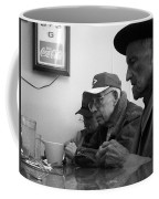 Lunch Counter Boys - Black And White Coffee Mug