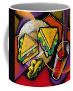 Lunch Coffee Mug by Leon Zernitsky