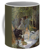 Luncheon On The Grass, Centre Panel Coffee Mug
