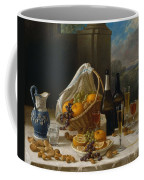Luncheon Still Life, At And By John F. Francis Coffee Mug