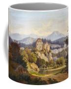 Lunde, Anders Christian Copenhagen 1809 - 1886 Grotta Ferrata. Oil On Canvas. Relined Coffee Mug
