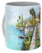 Lungolago Coffee Mug by Guido Borelli