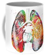 Lungs And Heart Coffee Mug