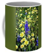 Lupine Amidst Tidy Tips Coffee Mug