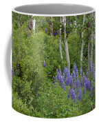 Lupine And Aspens Coffee Mug